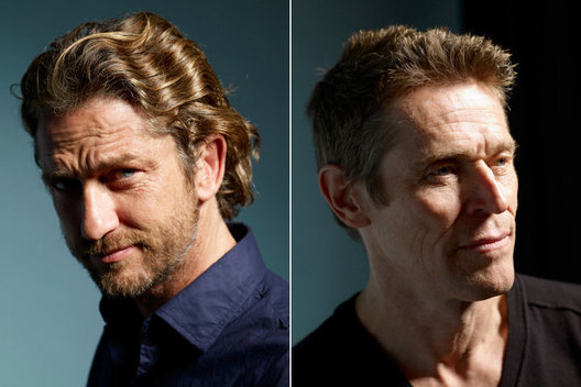 Gerard Butler and Willem Dafoe