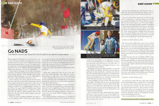 Assignment for Skiing Magazine
