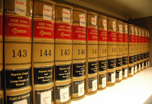 Law books for research