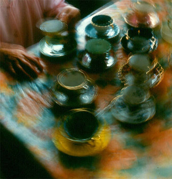 from the series 'Photographic Sketches: Dances with Teacups' 1996