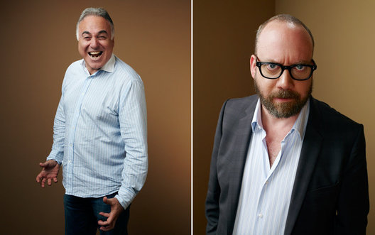 Ehud Bleiberg and Paul Giamatti