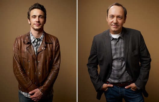 James Franco and Kevin Spacey