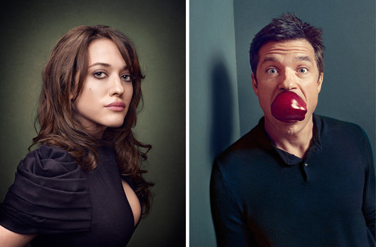 Kat Dennings and Jason Bateman