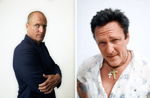 Woody Harrelson and Michael Madson