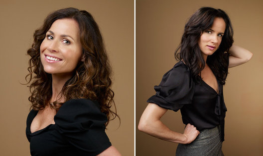 Minnie Driver and Juliette Lewis
