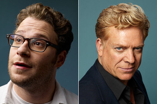 Seth Rogan and Christopher McDonald
