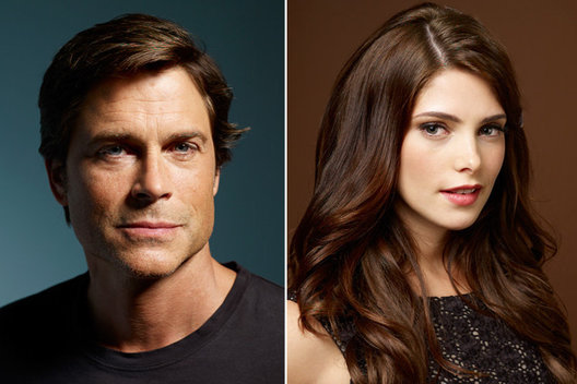 Rob Lowe and Ashley Greene