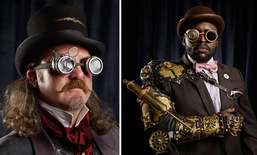 Steampunk Portraits for Month of Photography LA 2012