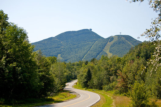 Road to Jay Peak, VT