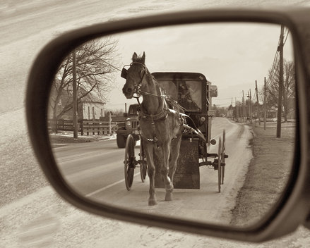 Amish in the Mirror